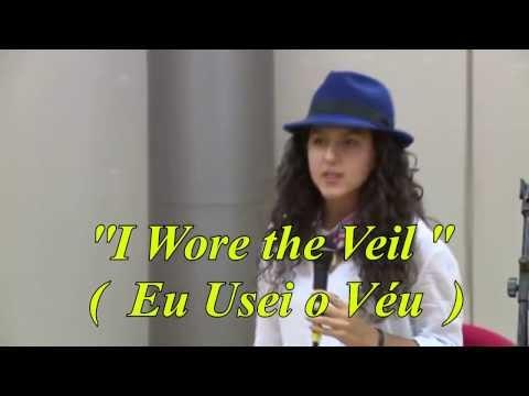 """""""I Wore the Veil"""" ( Eu Usei o Véu ) - Um Poema por Farah Chamma."""