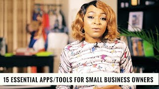 15 Essential Apps/Tools for Small Business Owners