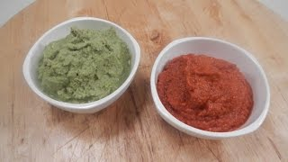 How To Make Thai Red Curry And Green Curry Paste | Sanjeev Kapoor Khazana