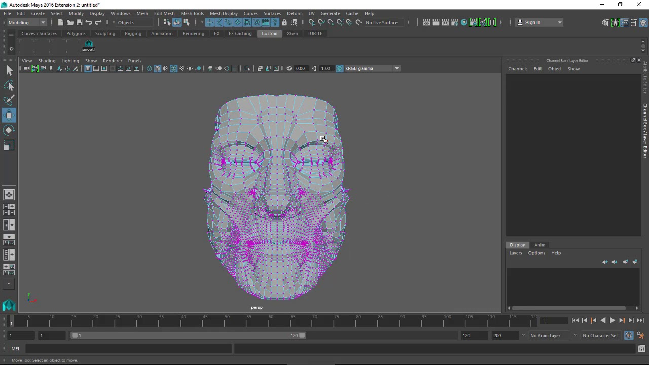 How to fix double faces in Maya?