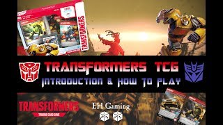 Transformers Trading Card Game - An Introduction & How To Play