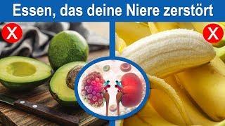 Diese 4 beliebten Lebensmittel zerstören deine Nieren! 95% der Menschen essen sie täglich!