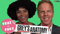 GREY'S ANATOMY : 'Vrai ou Faux ?' avec Kelly McCreary et Greg Germann