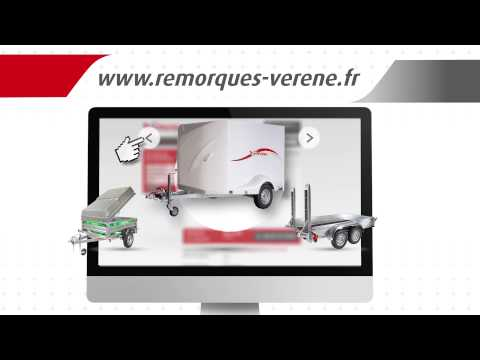 Spot publicitaire sur les remorques Verene - vidéo d'entreprise