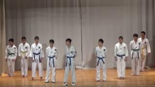 2016-12-20 佛教茂峰法師紀念中學 才藝表演 跆拳道