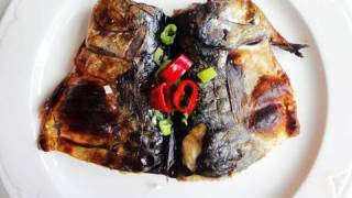 Grilled Mackerel (고등어구이)