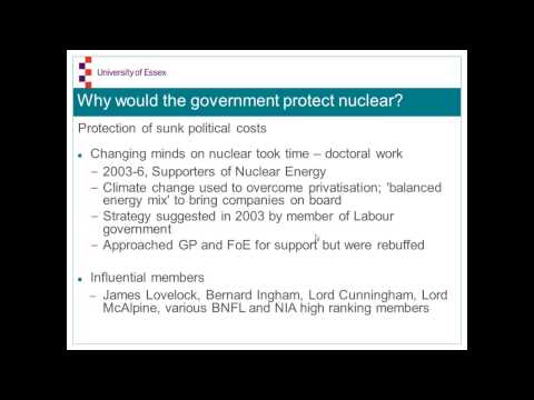09. Graham Walker- How and why Fukushima did not change British energy policy