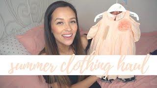 Summer '18 Clothing Haul! | Baby Girl & Toddler | Old Navy, BabyGap, Target, etc.