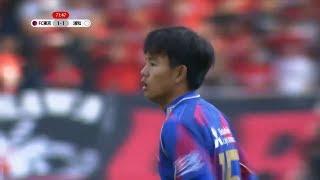 久保建英 浦和レッズ戦 タッチ集 Takefusa Kubo vs Urawa Reds (24/02/2018) HD 1080p
