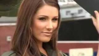 Lucy Pinder, RAF Nose Art Interview