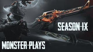 SEASON 9 IS HERE CUSTOM ROOMS SUB GAMES | PUBG MOBILE LIVE | UC GIVEAWAY | MONSTER PLAYS LIVE