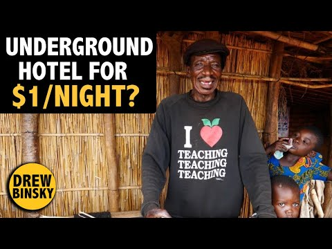 Underground Hotel for $1/Night? MALAWI