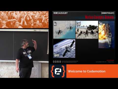 Cyber Wars in the Cyber Space - Andrea Pompili - Codemotion Rome 2017