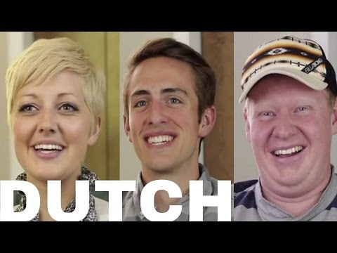 AMERICANS Learning To Speak DUTCH (Accent, Pronunciation Tips, etc.)