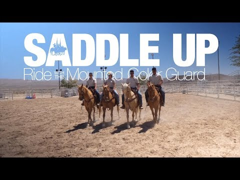 Saddle Up | Ride with the Marine Corps Mounted Color Guard (FULL)