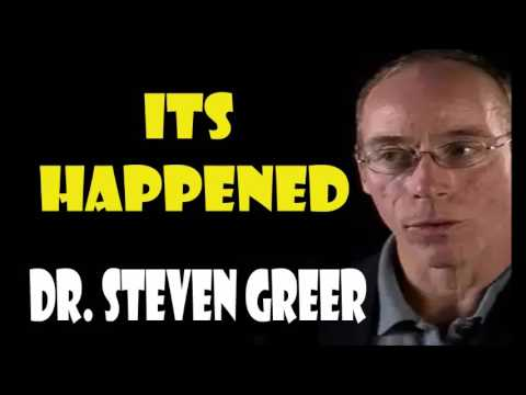 "Dr Steven Greer 2017 It's Happened ""Really"""
