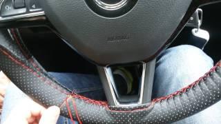 Как обновить руль или уберечь его от потертостей и загрязнений.Оплетка на руль. Обшивка руля.