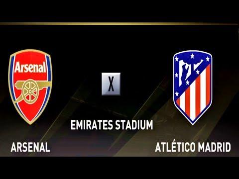 ARSENAL FC X ATLÉTICO DE MADRID ( 1080p / 60FPS ) EMIRATES STADIUM - FIFA 18