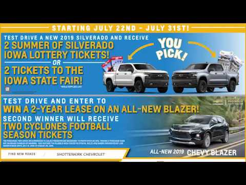 Shottenkirk Chevy All-Star Open House GIVEAWAYS!!!