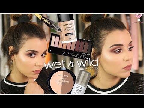 FULL FACE USING ONLY WET N' WILD PRODUCTS! | CRUELTY FREE DRUGSTORE MAKEUP TUTORIAL!
