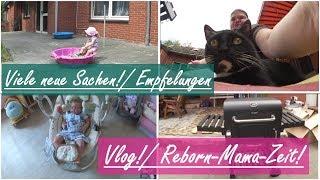 Reborn-Mama-Alltag! || Neuer Grill? || Reborn Baby Deutsch || Little Reborn Nursery