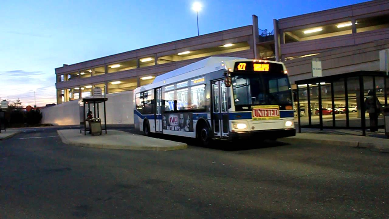 mta long island bus - orion vii cng #1798 on route n27 to htc