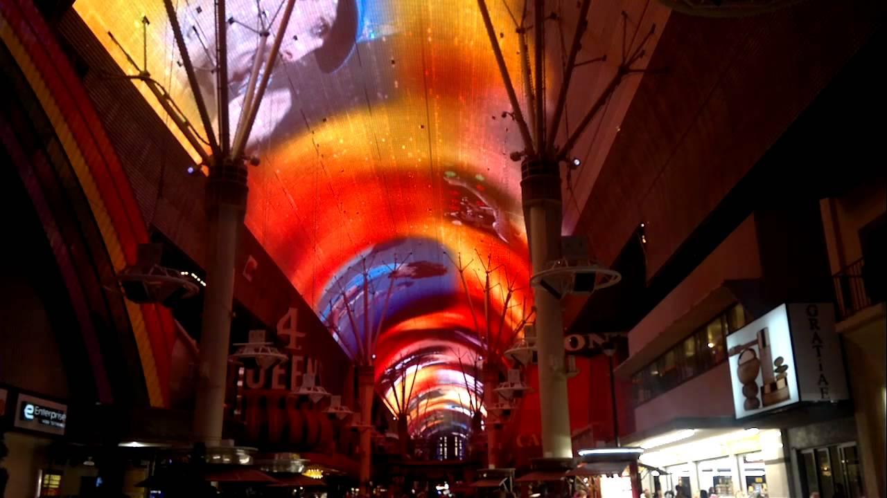 Light Show Queen Las Vegas Downtown Fremont Street