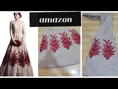 Amazon Gown With Priceroyal Export Long Gownamazon Gown Unboxing