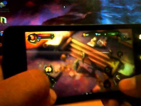 Dungeon Hunter 4 Gameplay In XOLO Q800