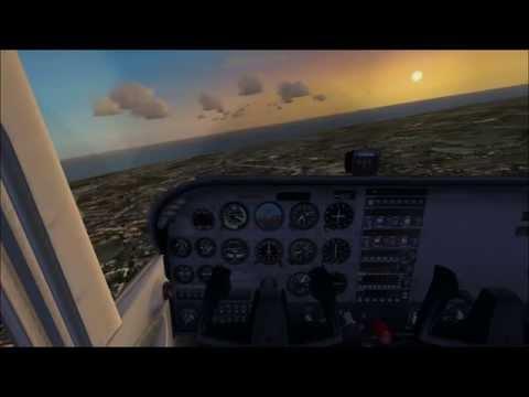 Cessna 172skyhawk LPBR---LPPR/FSX
