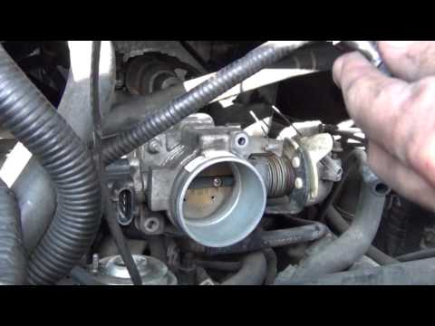 How to clean a throttle body and Idle air control valve (iac)