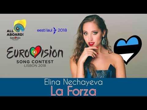 Elina Nechayeva - La Forza [Demo Version] Estonia Eurovision 2018