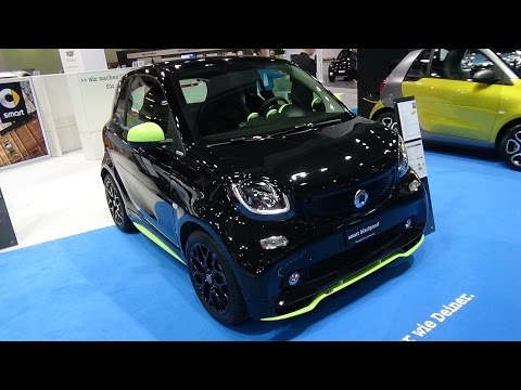 2017 Smart fortwo blackpearl - Exterior and Interior - Zürich Car Show 2016