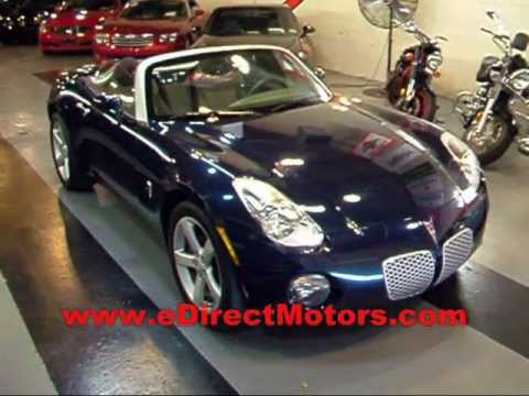 2006 Pontiac Solstice Edirect Motors Youtube
