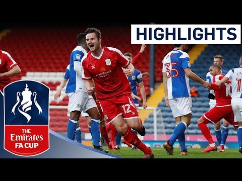Crewe Come Back From Three Down Against Nine-Man Blackburn! | Highlights | Emirates FA Cup 2017/18