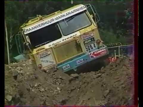 Europa Truck Trial in the 90s. Tatra 8x8,  Tatra 4x4, Gama-Goat