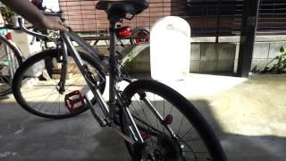 100均の自転車用リアライトを改造してブレーキランプにした。 thumbnail
