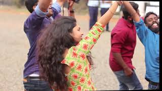 Gayathri Suresh At College Dance Saintgits Nakshatra PROMO DANCE NAAM MOVIE Keerthi suresh
