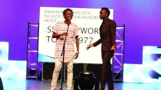 Willy Paul and Bahati clash  head to head.