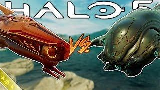 Halo 5 - PHAETON HELIOS VS BANSHEE ULTRA! - Vehicle Showdown