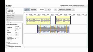 UnderScore: Musical Underlays for Audio Stories