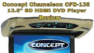 Concept CFD-135 DVD HDMI Flip Down Entertainment System Review