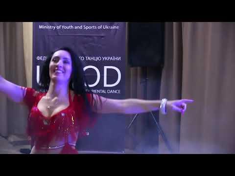Belly Dancer Patrycja Marzec Gala Show By UFOD Ukrainian Federation - Dnipro 2018