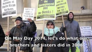 Protest on Wall Street - Restore Unemployment Benefits!