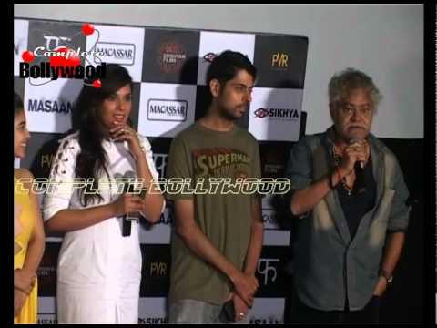 Download Richa Chadha ,Sanjay Mishra & Others at Trailer Launch of 'Masaan'