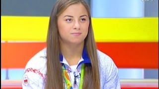 Мария Мамошук, серебряный призёр Олимпийских игр 2016