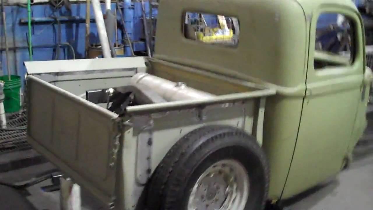 1940 Hot Rod/ Rat Rod Bobber Truck Project - YouTube