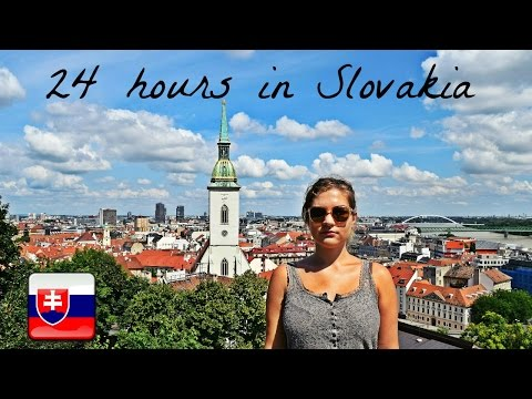 24 Hours in Bratislava - Slovakia! | Daily Travel Vlog 131