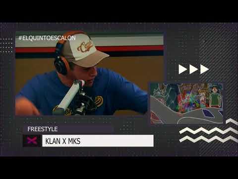 MKS Y KLAN VUELVEN A ROMPERLA FREESTYLEANDO - El Quinto Escalon Radio (16/10/17)