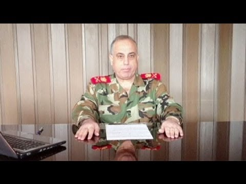 Syria: military chief defects to opposition
